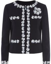Moschino Cheap & Chic Pearl Rock Print Jacket - Lyst