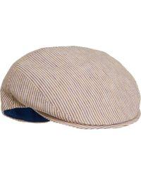 Borsalino - Striped Ivy Cap - Lyst
