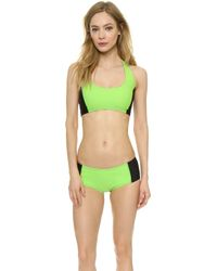 Y-3 Light Flash Bikini Bottoms - Light Flash Green