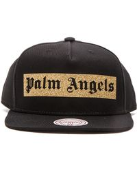 Palm Angels - Glitter Logo Hat - Lyst