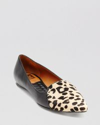 Dv By Dolce Vita Pointed Toe Flats Lex Leopard - Lyst