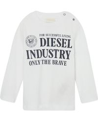 Diesel Graphic Long-sleeved Top 3-36 Months - Lyst