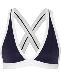 T By Alexander Wang Piquã Bra Top - Lyst