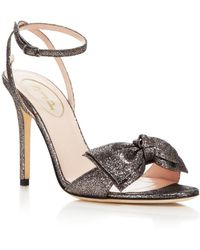 SJP by Sarah Jessica Parker Fever Ankle Strap High Heel Sandals - Bloomingdale's Exclusive - Metallic