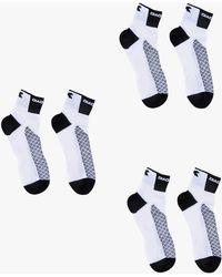 Diadora Pre Pack 3 Socks Race White
