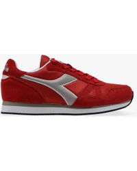 Diadora - Simple Run Red - Lyst