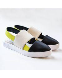 Issey Miyake 132.5 Sling Back Sandals - Multicolor