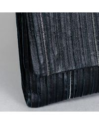 Fabiana Filippi Leather Clutch With Beading - Multicolor