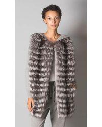 Fabiana Filippi Fox Fur Vest - Multicolor