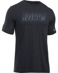 Under Armour - Relayer Houston T-shirt - Lyst
