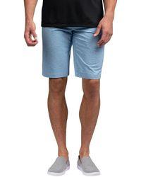 Travis Mathew Crash Course Golf Shorts - Blue
