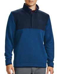 Under Armour Storm Half-snap Golf Pullover - Blue