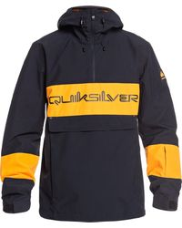 Quiksilver - Steeze Shell Snow Jacket - Lyst