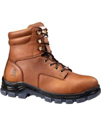 Carhartt Made In The Usa 8'' Waterproof Work Boots - Brown