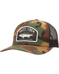 Salty Crew Striper Retro Trucker Hat - Multicolor