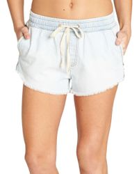 Billabong - Coast Line Denim Shorts - Lyst