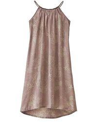 Patagonia June Lake Swing Dress - Brown