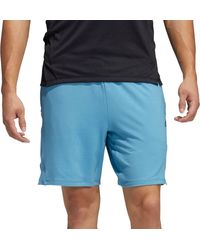 adidas Motion Restore Shorts - Blue