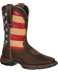 Durango - Rebel Patriotic Pull-on Western Boots - Lyst