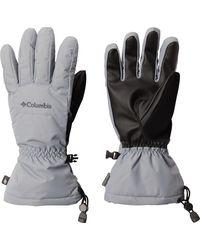 Columbia Woodland Way Ski Gloves - Gray