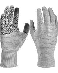 Nike Sphere Heatherized Running 2.0 Gloves - Gray