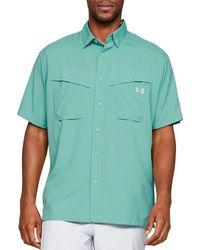 Under Armour Tide Chaser Short Sleeve Shirt - Blue