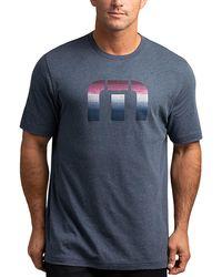 Travis Mathew Direct Flight Golf T-shirt - Blue