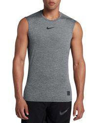 Nike - Pro Fitted Sleeveless Shirt - Lyst