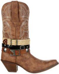 Durango - Crush Accessory Western Boots - Lyst
