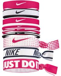 Nike - Mixed Ponytail Holder 9 Pack - Lyst