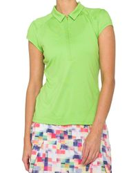 Lija - Grid League Golf Polo - Lyst