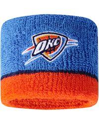 Nike Oklahoma City Thunder Wristbands - Blue
