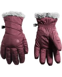 The North Face Mossbud Swirl Gloves - Purple