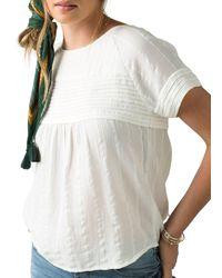 Prana Pinoit Short Sleeve Shirt - White
