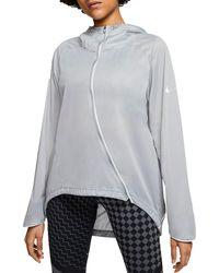 Nike Shield Running Jacket - Gray