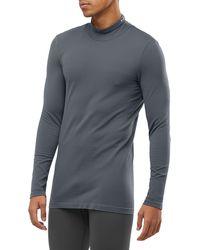 Salomon Essential Seamless Top - Gray