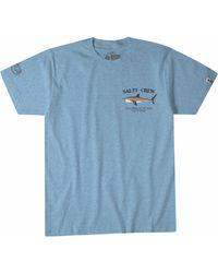 Salty Crew Bruce Short Sleeve T-shirt - Blue