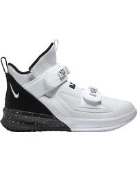 Nike Lebron Soldier Xiii Sfg Basketball Shoes - White