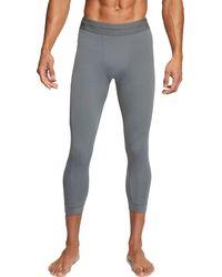 Nike 3⁄4 Yoga Tights - Gray