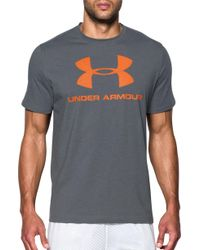 Under Armour - Charged Cotton Sportstyle Logo T-shirt - Lyst