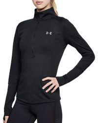 Under Armour - Threadborne 1⁄2 Zip Long Sleeve Shirt - Lyst
