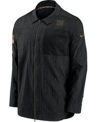 Nike Salute To Service New York Giants Black Shirt Jacket