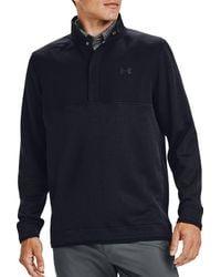 Under Armour Storm Half-snap Golf Pullover - Black