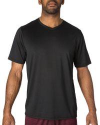 Reebok - V-neck Vector T-shirt - Lyst