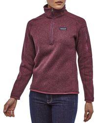 Patagonia Better Sweater Jacket - Purple