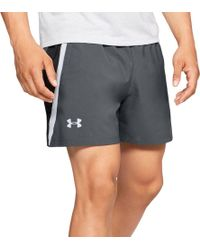 Under Armour Launch Sw 5'' Running Shorts - Gray