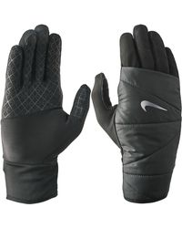 Nike Quilted 2.0 Running Gloves - Black