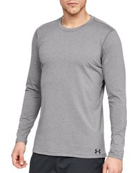 Under Armour Coldgear Armor Fitted Crew - Gray