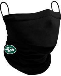 KTZ Adult New York Jets Neck Gaiter - Black