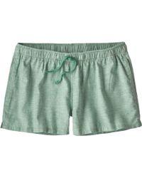 Patagonia - Island Hemp Baggies Shorts - Lyst